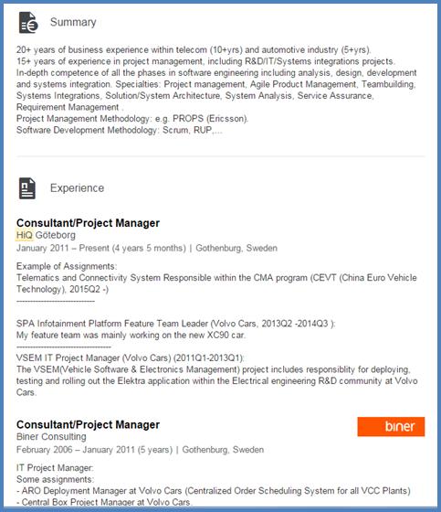 Bra Nätdejting Profil Exempel